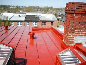 Metal roof installation in Washington DC, Arlington & nearby