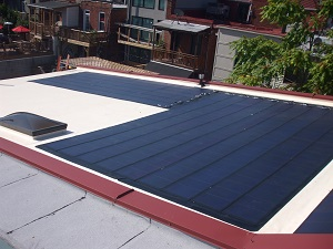 Solar integrated roof installed in Arlington